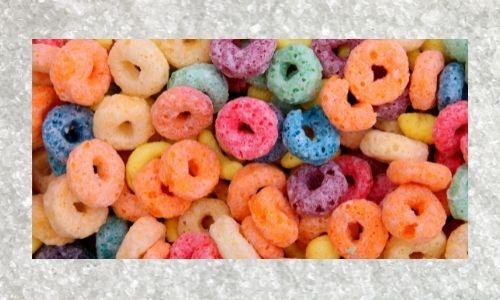 Sugar sweetened cereal